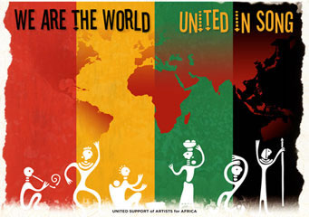 We Are the World United in Song
